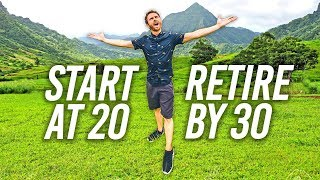 Start At 20, Retire By 30 (Guide To Personal Finance)