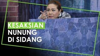 Kesasksian Nunung di Sidang Kurir Narkoba, Kenal dari Keponakan sejak Maret 2019