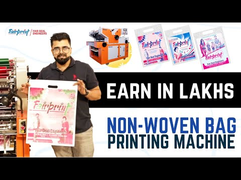 2 Color Printing Machine