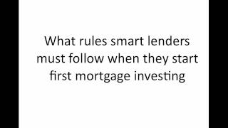 How to earn 10% Interest investing in Mortgages and Trust Deeds