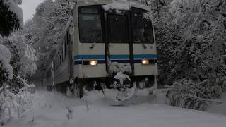 三江線 豪雪に立ち向かう