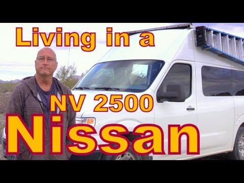 Living in a Nissan NV 2500 Van