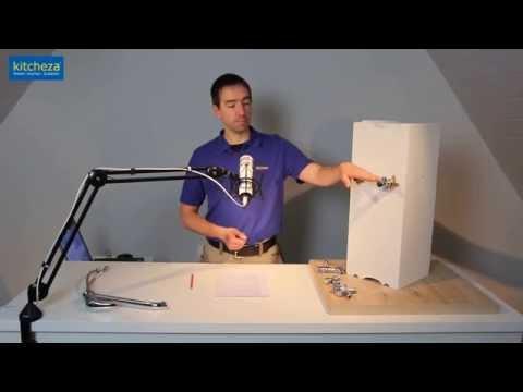 Wasseranschluss Eckventile Mischbatterie und Spülmaschine
