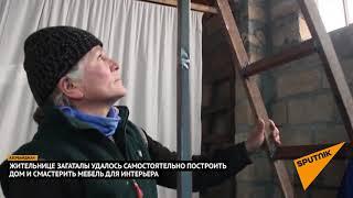 Азербайджанка самостоятельно построила дом и смастерила мебель для интерьера