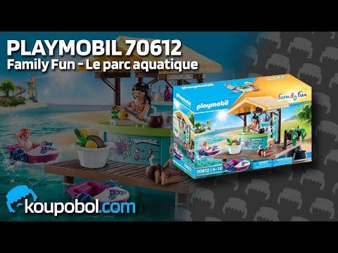 Vidéo PLAYMOBIL Family Fun 70612 : Bar flottant et vacanciers