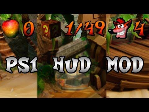 Original PS1 HUD Mod for Crash Bandicoot N  Sane Trilogy PC by