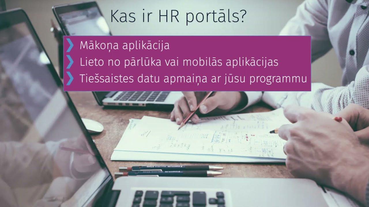 HR portāla funkcionalitāte