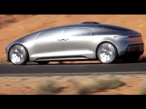 Mercedes F 015 Self Driving Car Amazing First Commercial CES Mercedes S Class CARJAM TV 4K 2015