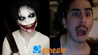 Jeff the Killer goes on Omegle!