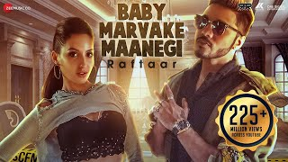 Baby Marvake Maanegi - Raftaar | Nora Fatehi | Remo D'souza | India's first DANCEHALL Song