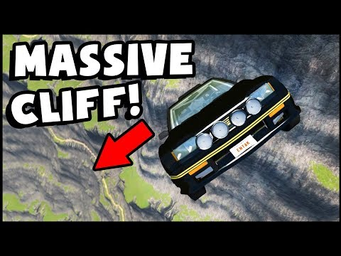 HOT WHEELS CAR Falls Off MASSIVE Cliff! (BeamNG Drive Gameplay)