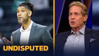 Pop looks like he's grooming Tim Duncan to be Spurs head coach — Skip Bayless | NBA | UNDISPUTED