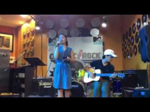 Secret Love Song Live @ Classic Rock Coffee Dubai - Singer Charm  x Guitarist Kevin