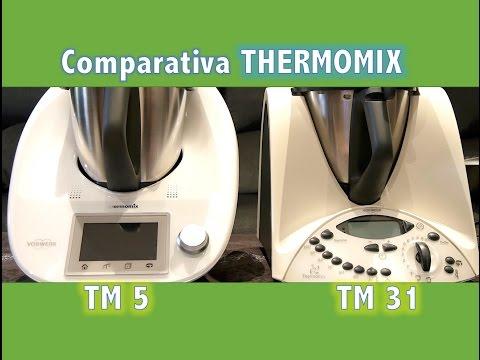 Comparativa entre TM 31 y TM 5 Thermomix (4K UHD) - Escondite de RacheL