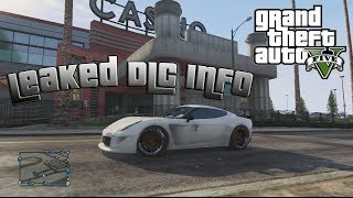 GTA V Online: LEAKED DLC INFO - PINK SLIPS, CASINOS, DRUG DEALING, INDOOR DIRT RACING&MORE!