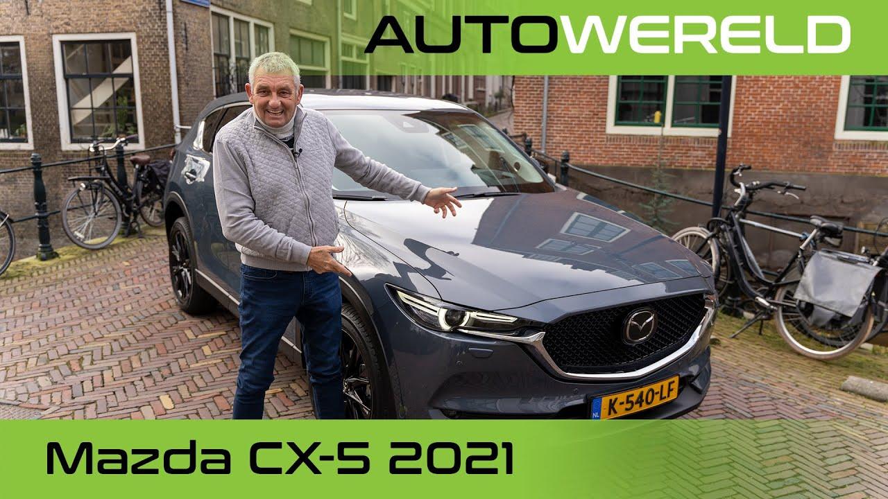 Mazda CX-5 modeljaar 2021 review met Allard Kalff