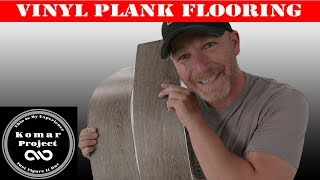How To Install Peel-and-Stick Vinyl Plank Flooring and Floor Preparation