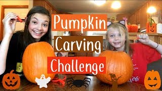 Pumpkin Carving Challenge | Halloween 2017 | My Life Fast Forward