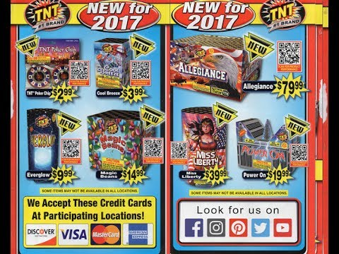2017 TNT Fireworks Catalog And Buyers Guide Mp3