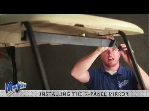 Five Panel Mirror | How to Install Video | Madjax® Golf Cart Accessories
