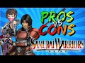 Pros Vs Cons Samurai Warriors musoumay