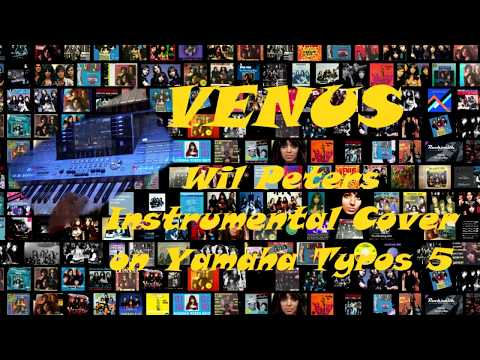 Shocking Bleu Venus (Wil Peters Instrumental Cover on Yamaha Tyros 5)