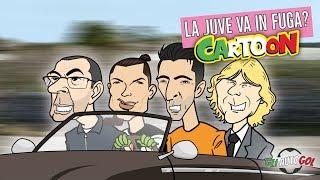 AUTOGOL CARTOON - La Juve va in fuga??