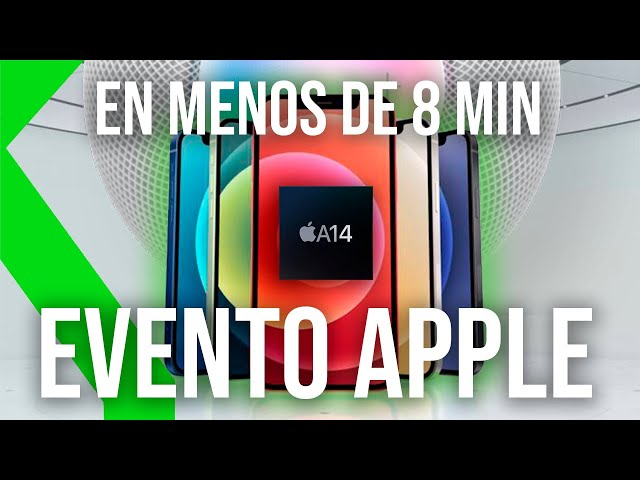 RESUMEN EVENTO APPLE: Familia iPhone 12, HomePod Mini, MagSafe y más