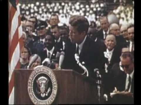 John F. Kennedy's inspirational speech: