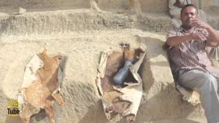 Ethiopian couple built their own Rock-Cut house in Hawzen, Tigray