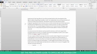 How to Delete an Unwanted Blank Page in Word 2013 or 2016