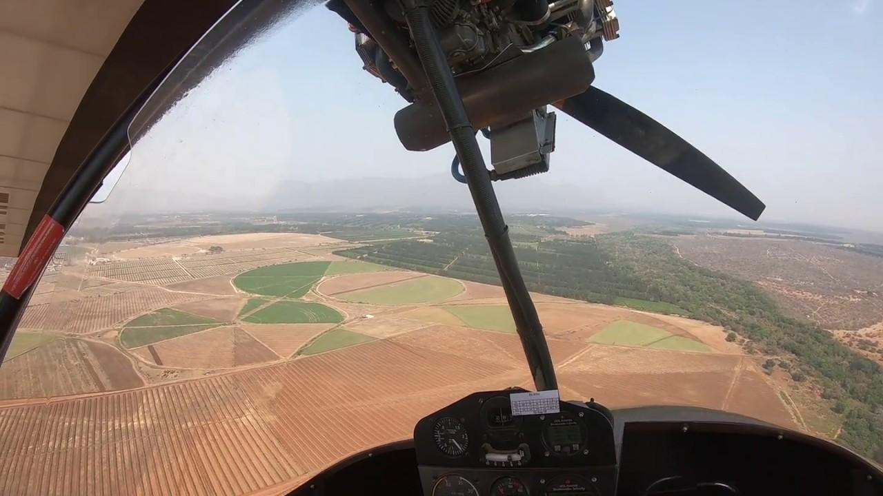 Аварийная посадка моноплана на поле
