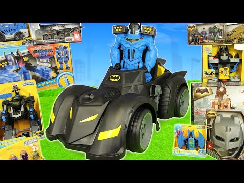 Batman Toys: Superheroes Toy Vehicles & Ride on Cars Surprise for Kids