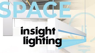 A new take on Linear Lighting – SPACE by Insight Lighting
