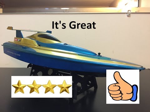 Carrera RC Speed Boat Review It's Great