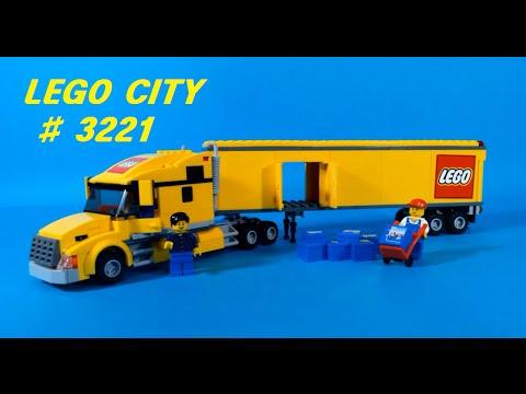 Vidéo LEGO City 3221 : Le camion LEGO City