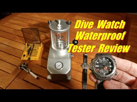 Dive Watch Waterproof Pressure Tester Endurance Trial