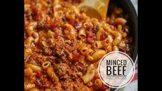 MINCED BEEF MACARONI