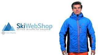 Kilpi, Chip, ski-jas, heren, blauw (Ski kleding heren)