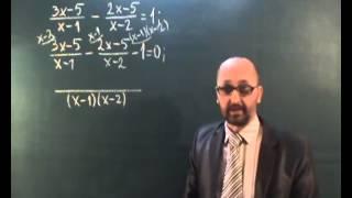 Раціональні рівняння  - 8 клас