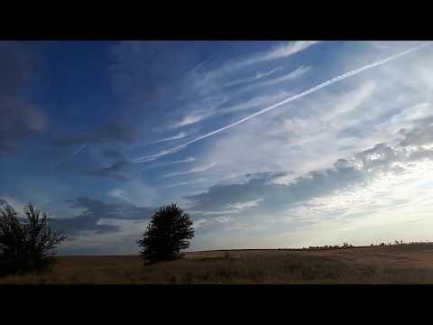Красивое небо и облака.Релакс под музыку.