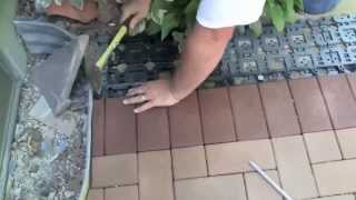 Azek Paver Installation - The Deck Store