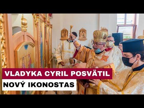 V Sirníku oslávili chrámový sviatok s posvätením nového ikonostasu