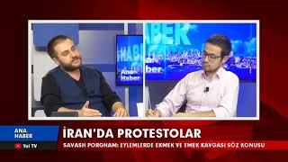 İran'daki Protestoları YolTV'de Değerlendirdim