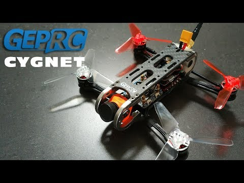 Maiden flight with the GepRC Cygnet (Runcam Split mini 2 recording)