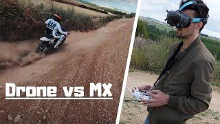 Motocross Vs Drone FPV