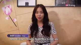 Showbiz Korea - BAEK AH-YEON ON STARS & MUSIC 드라마 [운명처럼 널 사랑해] ost - 가수 백아연