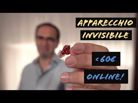 Il miglior apparecchio acustico? Prova apparecchio acustico invisibile a bassissimo prezzo online