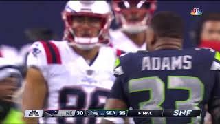 Patriots vs. Seahawks Final Play   NFL Week 2