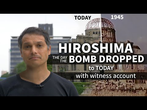 Hiroshima Bombing Story | Tour around the Atomic Hypocenter ★ ONLY in JAPAN